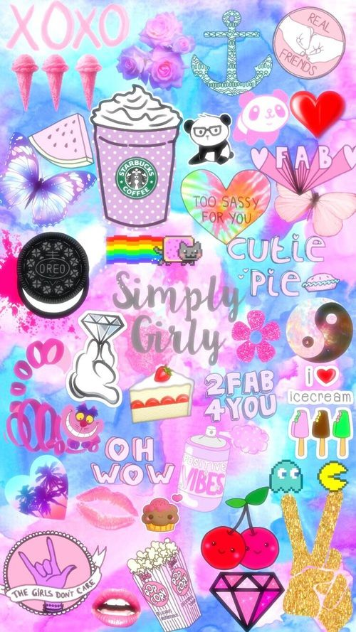 Pattern Girly Cute Wallpapers Shared By Esor Cute Wallpapers Wallpaper Iphone Cute Cute Emoji Wallpaper