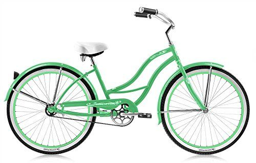 Micargi Tahiti F Mgrn Women S Cruiser Bikes 26 Medium Mint