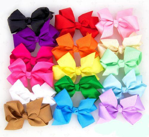 """3"""" Boutique Style Hair Bows -Pick ONE only 1.00. $1.00, via Etsy."""