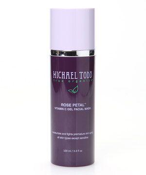 Love this Rose Petal Vitamin C Gel Facial Mask by MICHAEL TODD true organics on #zulily! #zulilyfinds