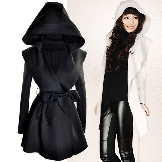 New 2013 Women Autumn Winter Outerwear Casual Hoodies Coat Jackets Hot 2 Color Price:US $23.39
