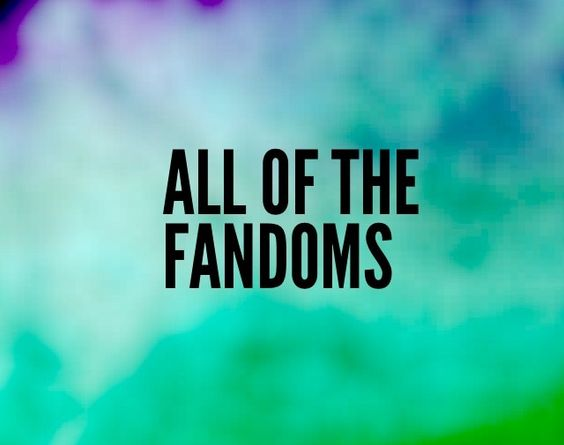 If anybody can create a better board cover post it on all of the fandoms board and I'll pick the best one. It must say all of the fandoms on it! :)