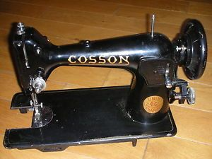 Details about ancienne machine coudre cosson unis france for Machine a coudre 60 millions