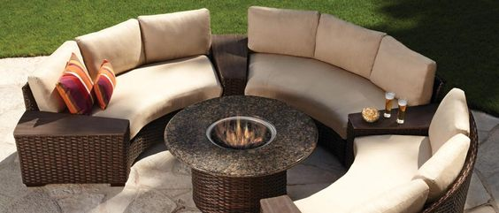 Contempo | Lloyd Flanders | Outdoor Wicker | Available at www.OutdoorRooms.net