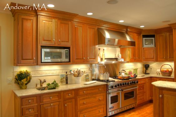 Stainless Steel Hood, Pot Filler Faucet And Microwave Stainless Steel On Pinterest