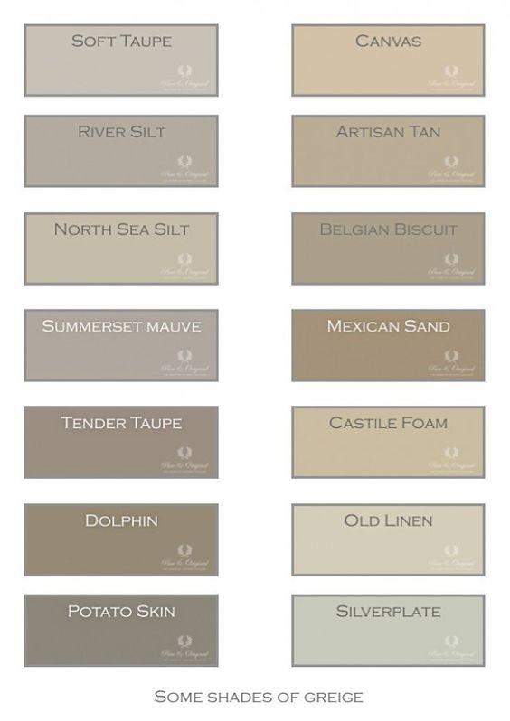 Greige de kleur grijs met een vleugje bruin en beige het for Perfect beige paint color