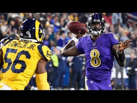 Lamar Jackson Is Not Human Mvp Highlights Vs Rams Week 12 2019 Youtube Lamar Jackson Jackson Mvp