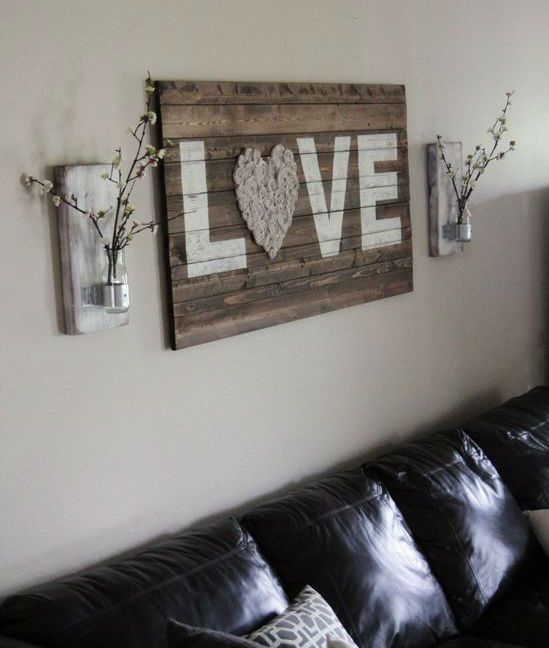 Diy and crafts decoration and google on pinterest for Decoration murale bois sculpte