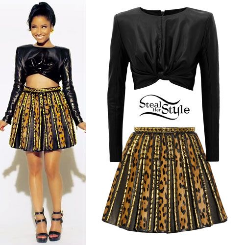 Nicki Minaj Clothes Outfits Page 2 Of 6 Steal Her Style Page 2 Style Pinterest