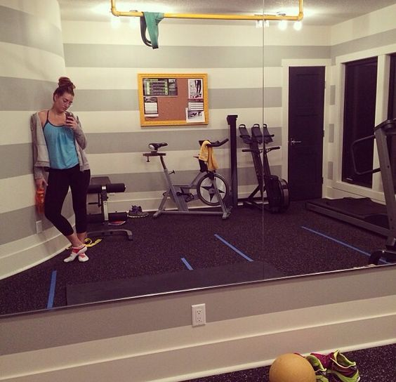 Rubber tiles tile flooring and home gyms on pinterest