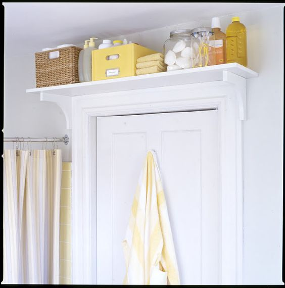 Storage solutions for small spaces door storage the for Compact bathroom solutions