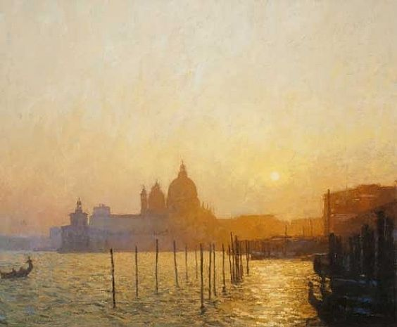 Nicholas Verrall, Sunset on the San Margela Basin