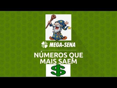 Numeros Que Mais Saem Na Mega Sena 2018 2019 Youtube Mega