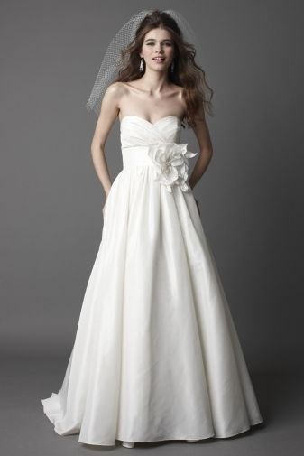 Add sleeves and take off that massive bow... I love.
