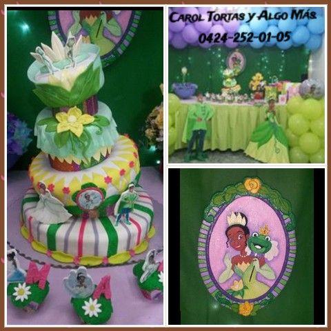 Torta princesa y el sapo disney mis trabajos de tortas - Sapos y princesas valencia ...