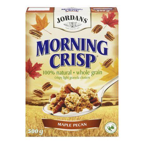Coupon de 0,75$ sur les céréales Morning Crips de Jordans • Quebec echantillons gratuits