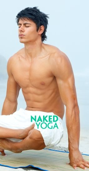 Rather Naked male yoga sex