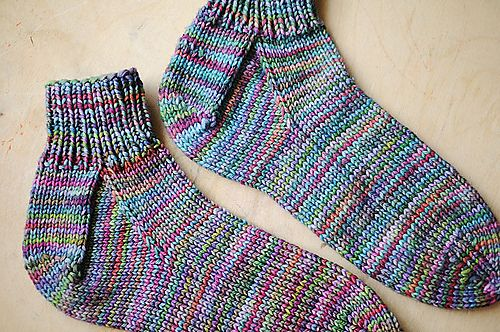 Ravelry: Easy Peasy Socks for First-Timers pattern by ...