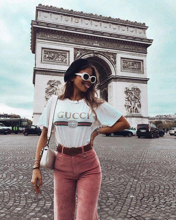 """""""ʏᴏᴜ ᴀʀᴇ ɢᴏʟᴅ ʙᴀʙʏ,sᴏʟɪᴅ ɢᴏʟᴅ"""" • anná grace inspiration #parisian_style_shoes"""