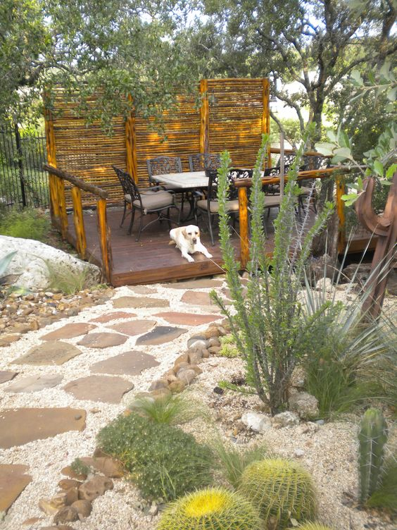 dining deck, there was a lot of blood, sweat and tears designing and building this, only to have to leave it behind:-(