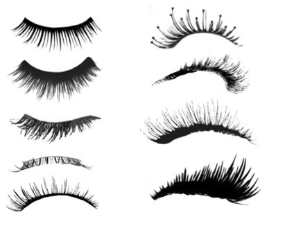 eyelashes reference | How to draw, paint | Pinterest ...