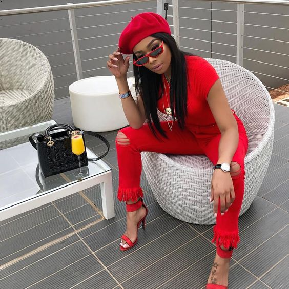Berets Are Taking Over! Let Bonang Matheba, Simi And Finding Paola Inspire You With Chic Beret Styling Options - Style Rave