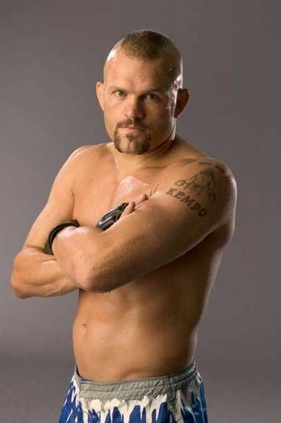 UFC fighter Chuck Liddell