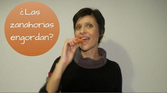 ¿Las zanahorias engordan?