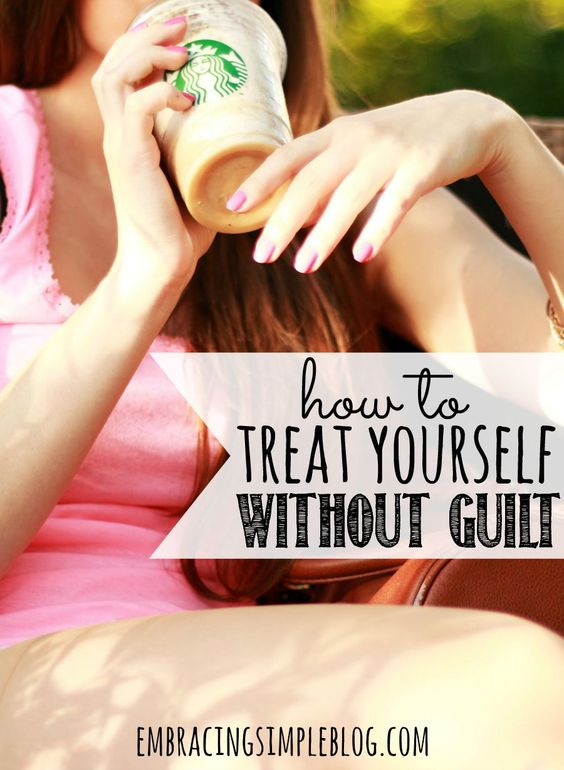 Do you have a hard time spending money on yourself when you have so many expenses to pay for your family? Here is how I treat myself without feeling guilty!