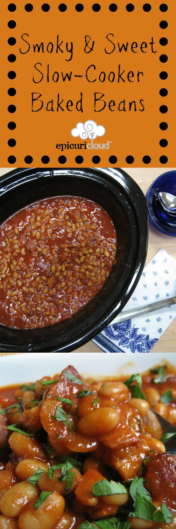 Baked beans, Beans and Slow cooker baked beans on Pinterest