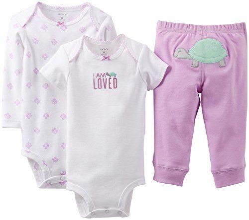 "Carter's Baby Girls' 3 Piece ""Take me Away"" Set (Baby) - Loved - Lavendar - 9 Months Carter's http://www.amazon.com/dp/B00KHDG6VW/ref=cm_sw_r_pi_dp_qyfIwb0ZYJFRZ"