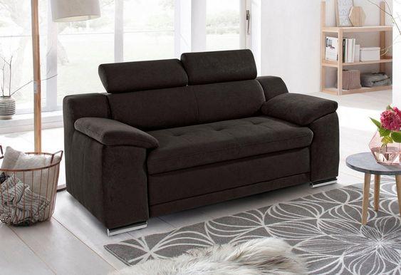 Sit More 2 Sitzer Inklusive Kopfteilverstellung 3 Sitzer Sofa Sofas 2er Sofa