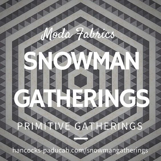 Simple. Intricate. Mesmerizing. Thx @lisabongean & @modafabrics #showmethemoda! #primitivegatherings #instachristmas