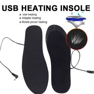 1 pair usb heated shoe insoles foot warming pad feet warmer sock pad m best future gadgets shoe insoles warm socks shoe covers pinterest