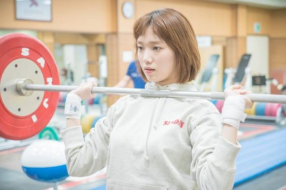 شاهد مسلسل الكوري جنية رفع الاثقال كيم بوك جو الحلقة الاخيرة كاملة اون لاين