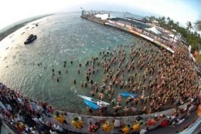 Ironman Hawaii-swim start