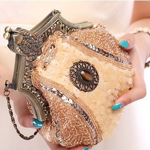 Handmade Vintage women clutch Evening Bags Stone style Beaded Delicate Banquet Wedding Party bag purses and handbags 12 Color H1-in Clutches from Luggage & Bags on Aliexpress.com | Alibaba Group