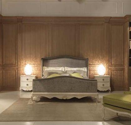 Stile impero e linee #classiche dal sapore un po' #vintage. La #camera da letto Delfina mantiene intatto il suo #design senza tempo, che rimane inalterato nel tempo.