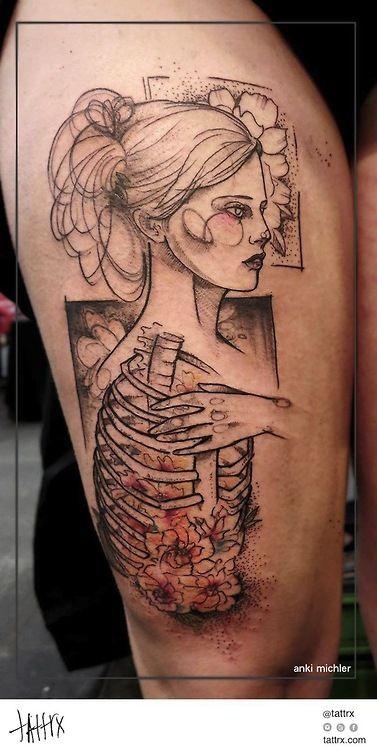 Anki Michler Tattoos - Blossoms Within tattrx.com/artists/anki-michler tumblr: ankimichler