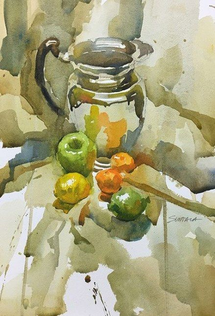 Watercolor Setting Up And Painting A Floral Still Life A Free