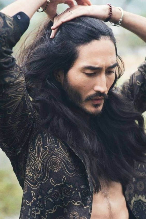 53 Long Hair for Men in Dazzling Style #Men, # #inDazzlingStyle #LongHairforMen #fine