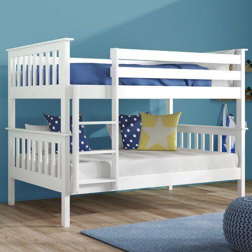 Harriet Bee Weston Lee Small Double Bunk Bed In 2020 Bunk Beds
