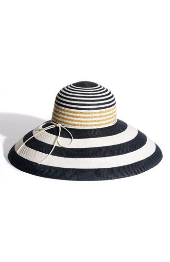 Laundry by Shelli Segal 'Nicole' Sun Hat available at #Nordstrom