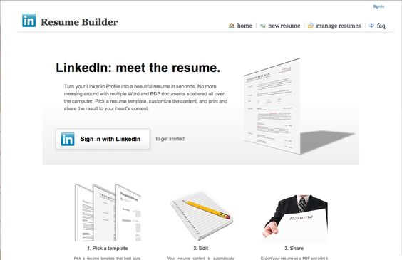 Linkedin Resume Builder - http\/\/wwwjobresumewebsite\/linkedin - linkedin resume generator