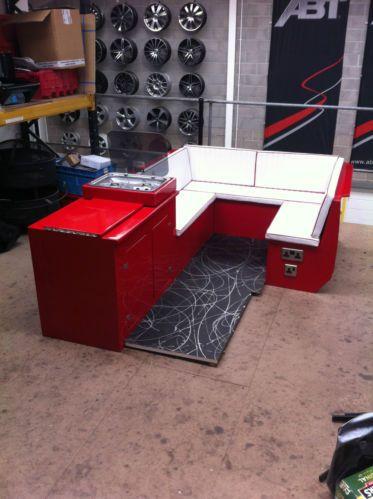 Vw T5 Camper Furniture With Bed Kitchen Unit And Fridge Swb Lwb