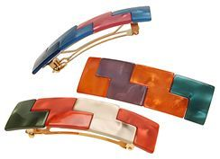 Check out the France Luxe Jenga Barrette - Originally $42, Sale $21.90! at France Luxe