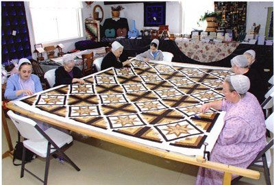 More than quilting going on here!