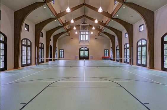 Pinterest the world s catalog of ideas for How many square feet is a basketball court