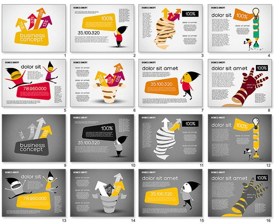 creative paper presentation ideas