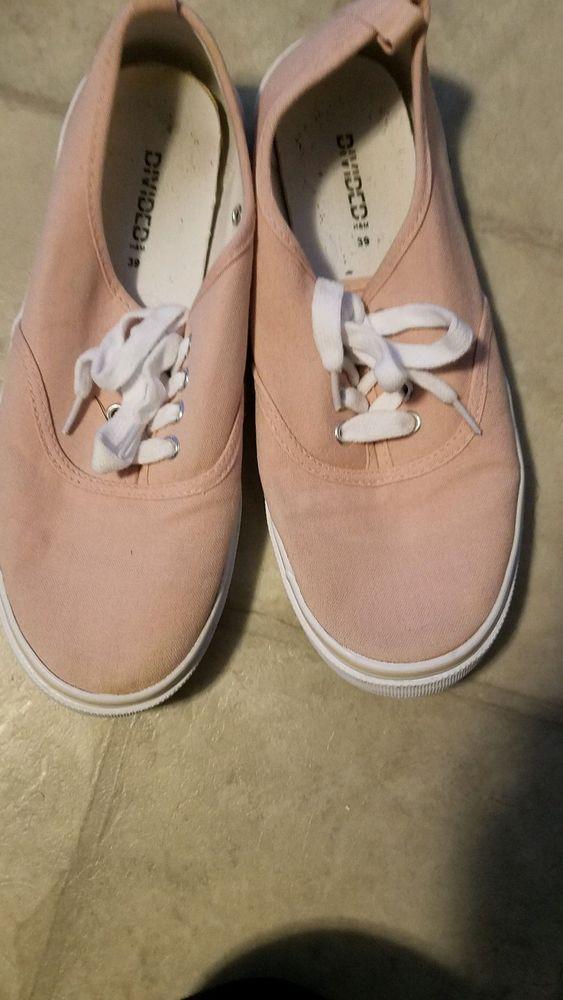 divided H\u0026M pink sneaker #fashion